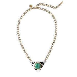 LOREN HOPE : JACKSON MALACHITE NECKLACE